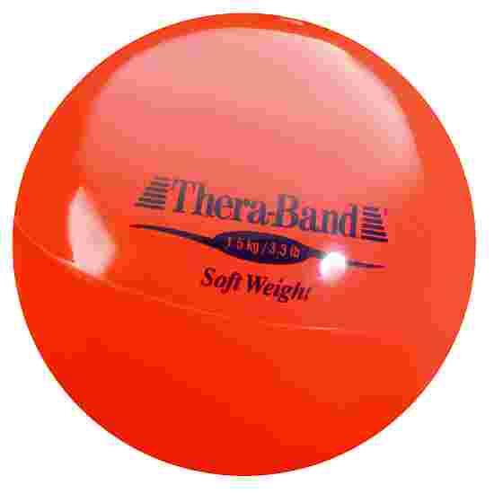 "TheraBand Gewichtsball ""Soft Weight"" 1,5 kg, Rot"