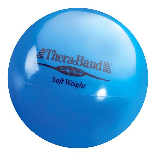 "TheraBand Gewichtsball ""Soft Weight"" 2,5 kg, Blau"
