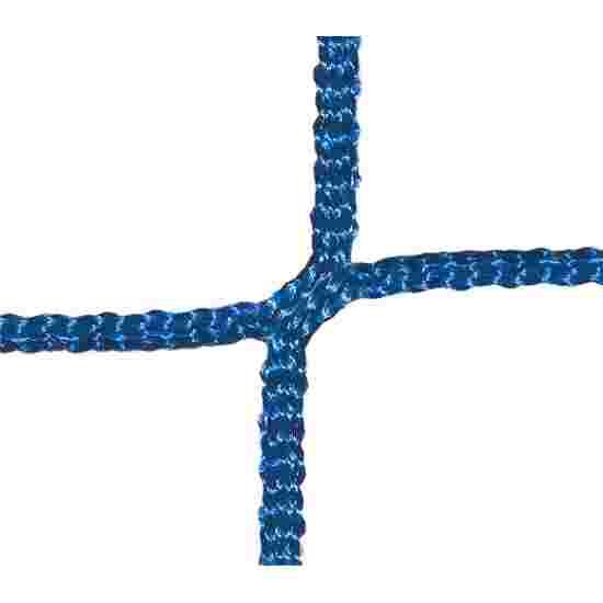 Tornetze für Mini-Tore, Maschenweite 10 cm Für Tor 2,40x1,60 m, Tortiefe 0,70 m, Blau