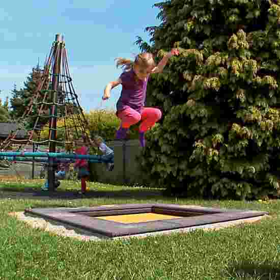 Trampoline pour enfants Eurotramp «Kindergarten Mini » Toile de saut rectangulaire