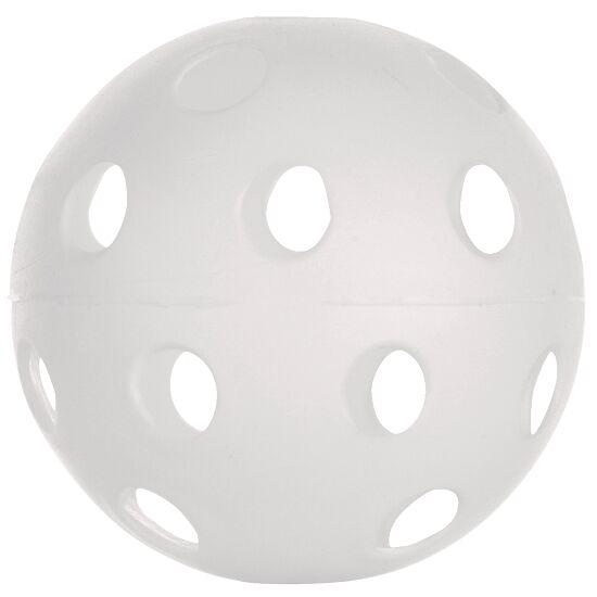 Unihockey-Wettspielball Weiss