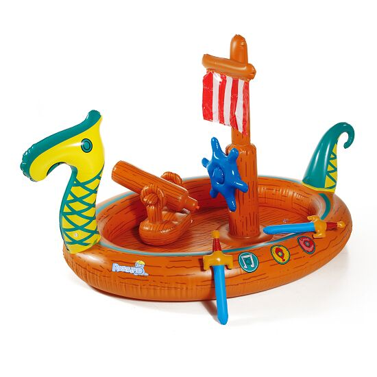 Wikinger-Pool mit Splash Funktion