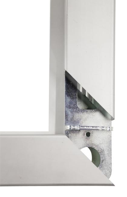 But de hand en salle Sport-Thieme® 3x2 m, autostable Avec supports de filet rabattables, Noir-argent