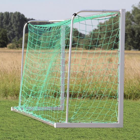 But junior Sport-Thieme 5x2 m, profilé carré, transportable Angles d'assemblage vissés