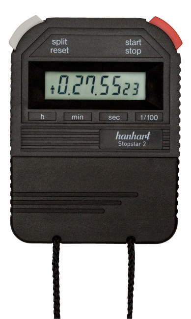 Chronomètre Hanhart « Stopstar 2 » Noir