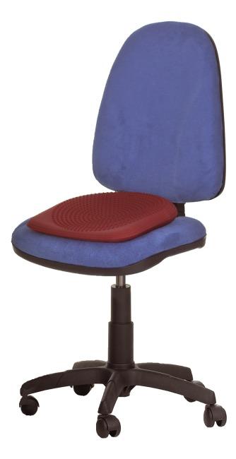 Coussin ballon incliné Togu® Dynair® Keil-Ballkissen® Premium, rouge