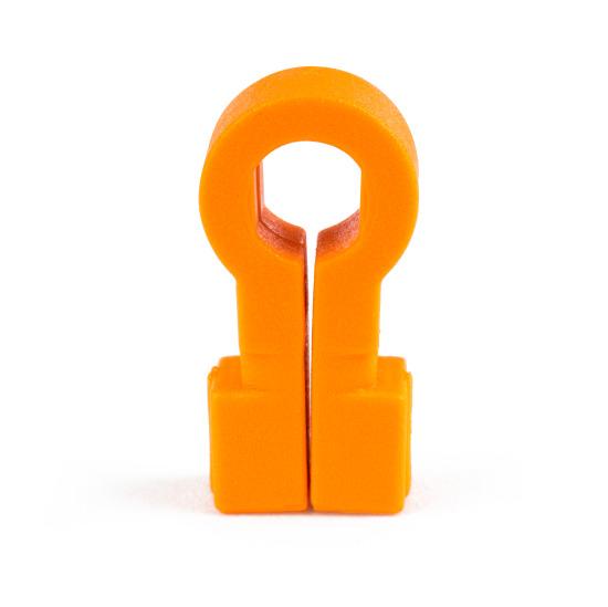 Crochets de fixation Orange
