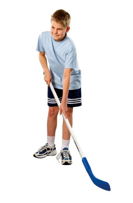 Crosse de hockey Dom® « Cup »  Lame rouge