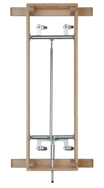 Dispositif de transport sur roulettes pivotantes pour plinths « Vario Mini »
