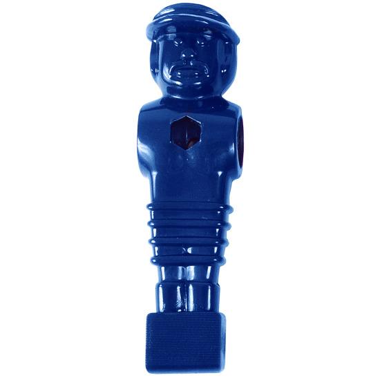 Fussball-Kickerfigur Blau