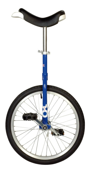 Monocycle OnlyOne® « Outdoor » 20'', 36 rayons, bleu