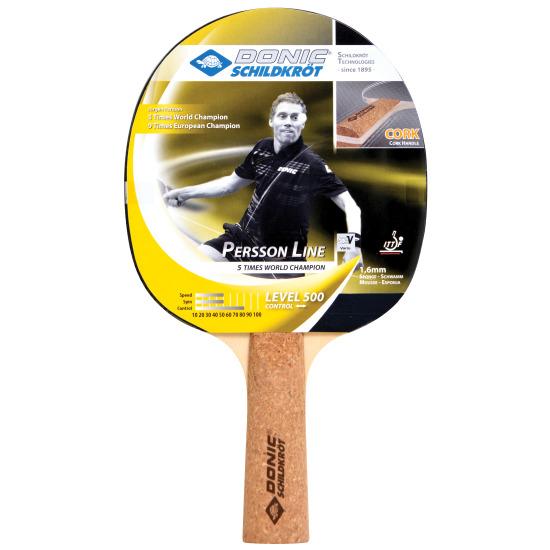 Raquette de tennis de table Donic® Schildkröt « Persson Line 500 »
