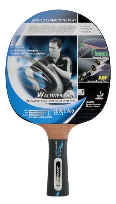 "Raquette de tennis de table Donic Schildkröt ""Waldner 700"""