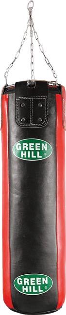 Sac de frappe en cuir Green Hill® 120x35 cm, 40 kg
