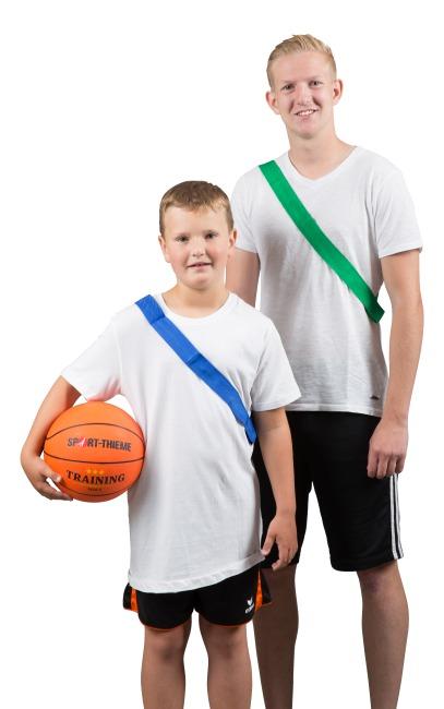 Sport-Thieme Écharpe de marquage Adulte , L: 65 (130) cm, Vert