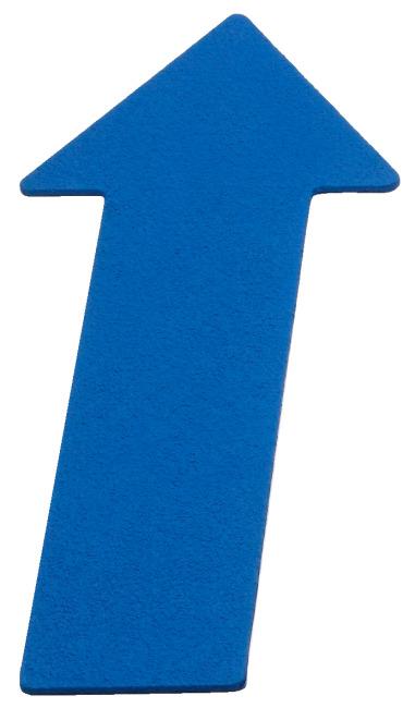 Sport-Thieme Bodenmarkierung Pfeil, 35 cm, Blau