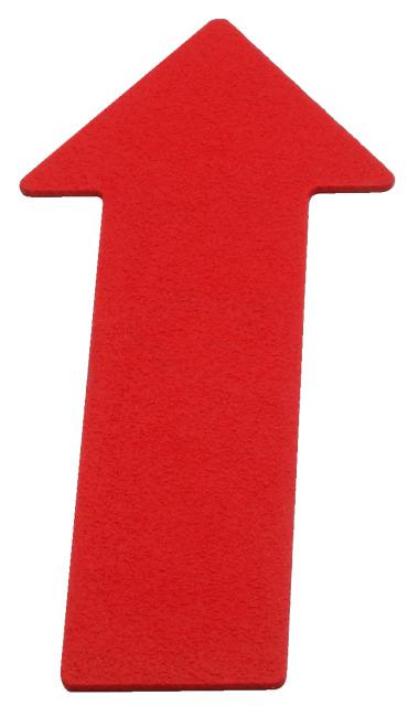 Sport-Thieme Bodenmarkierung Pfeil, 35 cm, Rot