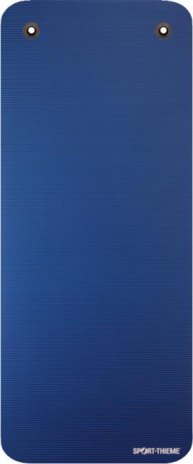 """Sport-Thieme® Gymnastikmatte """"Gym 15"""" Mit Ösen, Blau"""