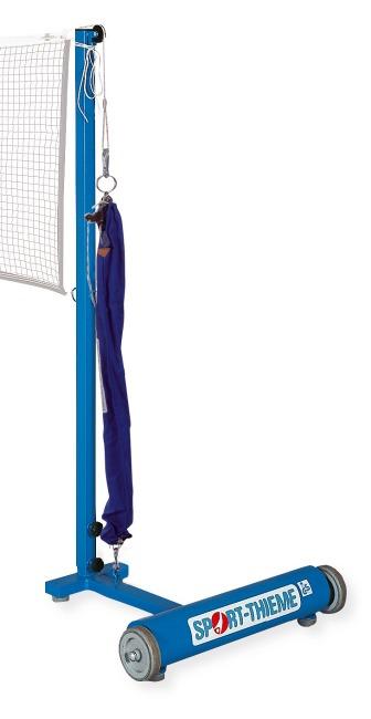 Sport-Thieme Poteaux de badminton Avec système de tension par poulie