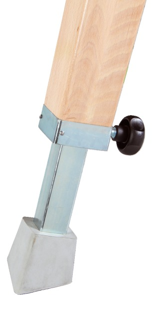 Sport-Thieme Sprungpferd Mit Holzbeinen
