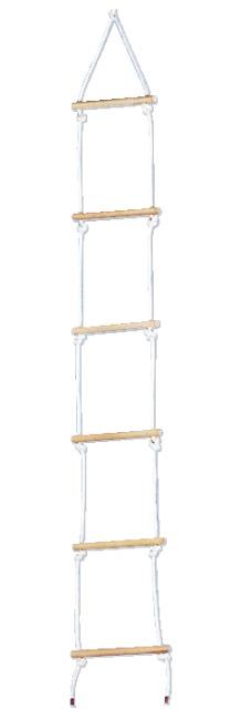 Sport-Thieme® Strickleiter aus Sisal Mit 6 Sprossen, 2 m lang
