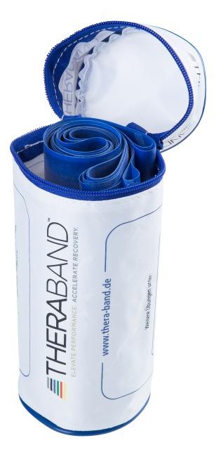 Thera-Band® 250 cm in Reissverschlusstasche Blau, extra stark