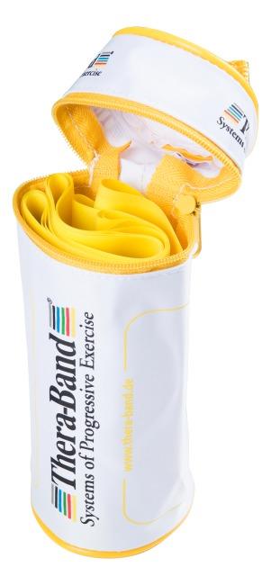 TheraBand™ 250 cm in Reissverschlusstasche Gelb, leicht