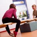 Sport-Thieme Planche avec tasseaux + caoutchouc strié Lüne-Combinato