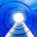Spiral-Kriechtunnel
