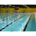 Terrain de water-polo «Amsterdam» Surface de jeu 30x20 m, bassin 50 m