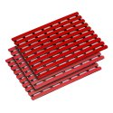 Bädermatte nach Mass 60 cm, Rot