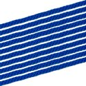 Sport-Thieme Lot de 10 cordes de gymnastique Bleu