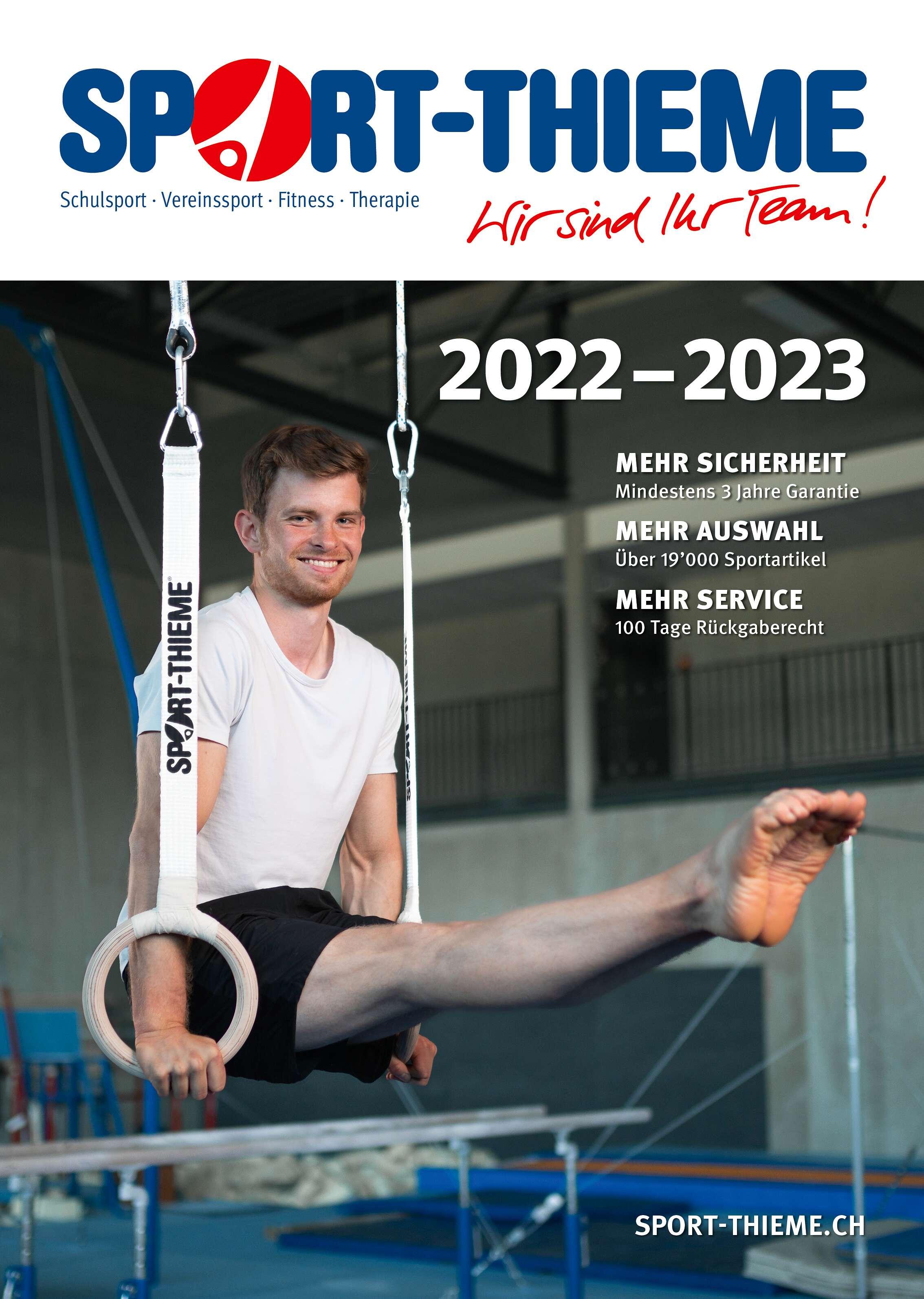 Sport-Thieme Katalog als PDF