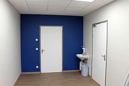 Snoezelen-Raumplanung: Türseite