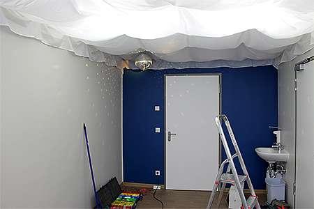 Snoezelen-Raumplanung: Spiegelkugel