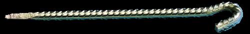 Piquet d'ancrage spécial pour fixation de filet