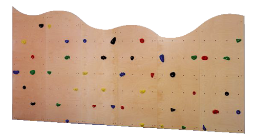 Structure d'escalade 6 pces. - « Climbing for Kids »