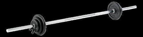 Sport-Thieme Kit d'haltère long, 52,5 kg ou 77,5 kg