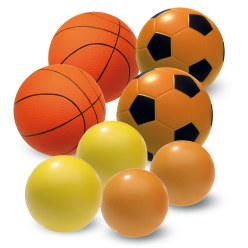 Lot de ballons en mousse PU Sport-Thieme®  « School »