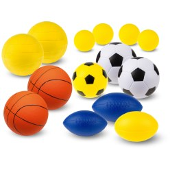 "Sport-Thieme® PU-Schaumstoffball Set ""Team"""
