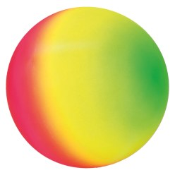 Togu Ballon arc-en-ciel fluo