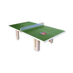 Sport-Thieme Table en béton polymère « Pro »
