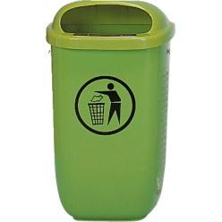 Abfallkorb nach DIN 30713