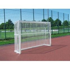 Sport-Thieme® Vollverschweisstes Bolzplatztor  300x200x60 cm, Quadratprofil 80x80 mm