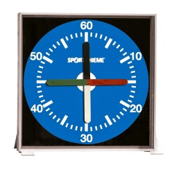 "Sport-Thieme ® Trainingsuhr ""Prima Super"" 67x67 cm, Wandmodell"
