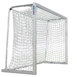 Sport-Thieme Alu-Kleinfeldtore 3x2 m, Quadratprofil, frei stehend oder in Bodenhülsen