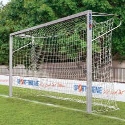 Sport-Thieme® Jugendfussballtor 5x2 m, Quadratprofil, in Bodenhülsen stehend