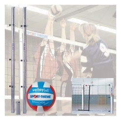 Sport-Thieme Installation de volley « Universal »