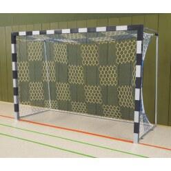 But de handball en salle Sport-Thieme Noir-argent, Angles d'assemblage soudés