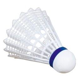 "VICTOR Badmintonbälle ""Shuttle 1000"" Blau, mittel, Weiss"
